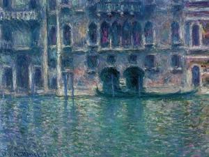 Palazzo Da Mula, Venice, 1908 by Claude Monet