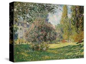 Parc Monceau, 1876 by Claude Monet