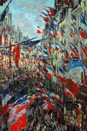 Paris, Rue St. Denis: Celebration of June 30, 1878