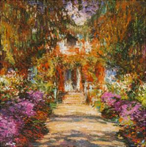 Path in Monet's Garden in Giverny by Claude Monet