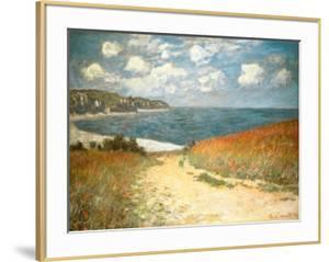 Path Through the Corn at Pourville, c.1882 by Claude Monet