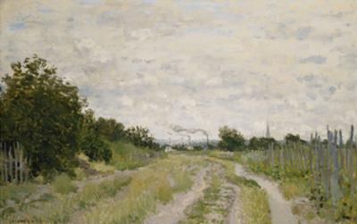 Path through the Vineyards, Argenteuil by Claude Monet