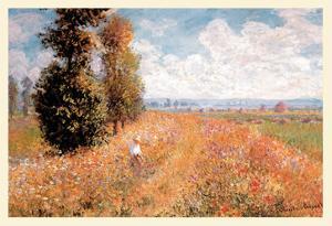 Paysage Pres De Giverny by Claude Monet