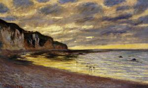 Pointe de Lailly, Maree Basse, 1882 by Claude Monet