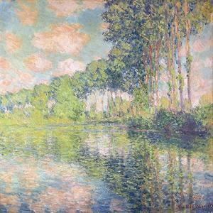 Poplars on the Epte, C.1891 by Claude Monet