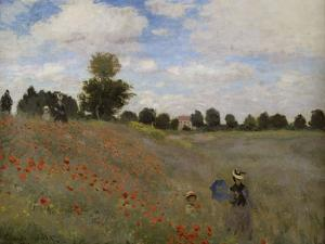 Poppies, c.1873 by Claude Monet