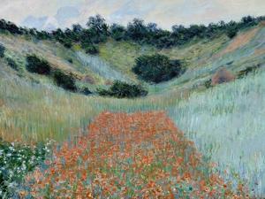 Poppy Field, 1885 by Claude Monet