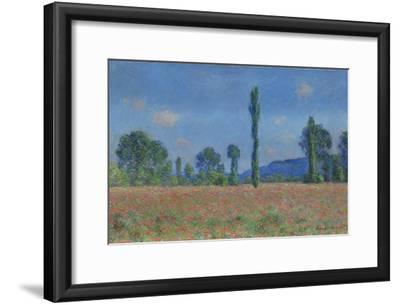Poppy Field, Giverny, 1890-91
