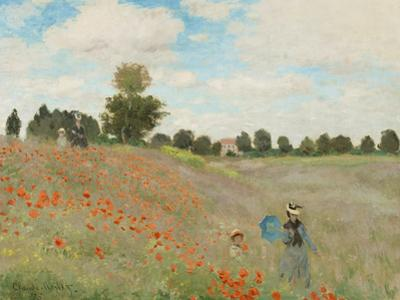 Poppy Field, Near Argenteuil, c.1873