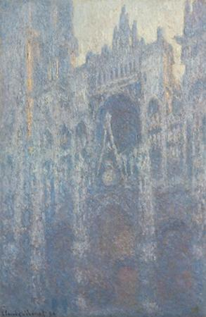 Portal of Rouen Cathedral in Morning Light, 1894 by Claude Monet