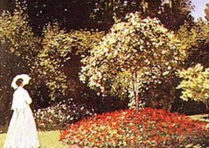 Promenade Dans un Parc by Claude Monet