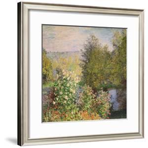 Quiet Corner in the Garden of Montgeron by Claude Monet