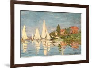 Regatta at Argenteuil, C.1872 by Claude Monet