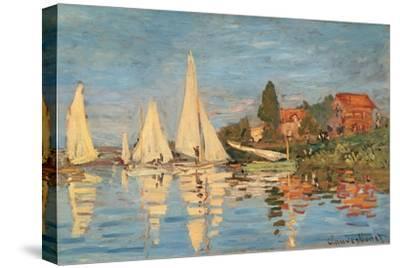 Regatta at Argenteuil, Monet Claude, 1872. Musee d'Orsay, Paris, France.