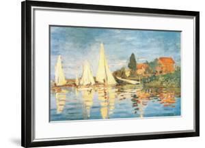 Regatta at Argenteuil by Claude Monet