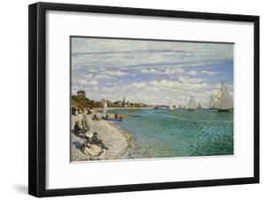 Regatta at Sainte- Adresse by Claude Monet