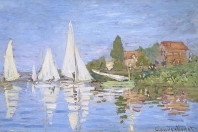 Regattas at Argenteuil by Claude Monet by Claude Monet