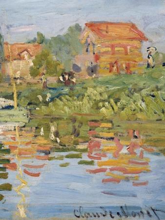 Regattas at Argenteuil, C.1872 (Detail) by Claude Monet