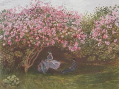 Resting Under the Lilac