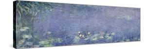 Right Centre Piece of the Large Water Lily Painting in the Musée De L'Orangerie by Claude Monet