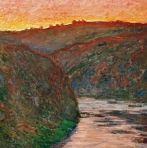 River Bend by Claude Monet