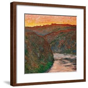 River Bend by Claude Monet