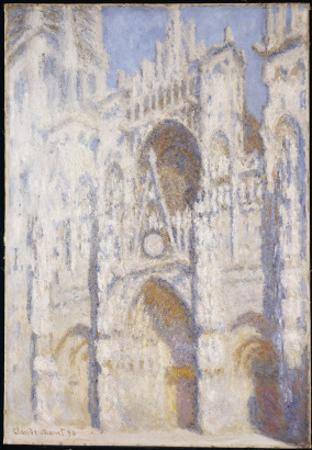 Rouen Cathedral, Afternoon by Claude Monet