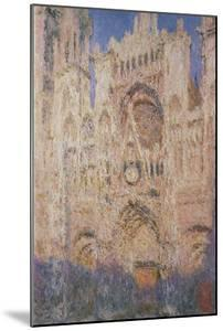 Rouen Cathedral at Sunset, 1892-1894 by Claude Monet