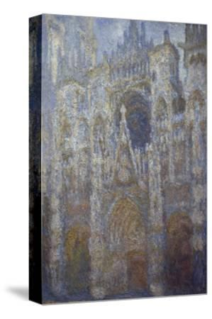 Rouen Cathedral, Blue Harmony, Morning Sunlight, 1893