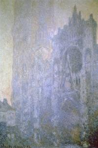 Rouen Cathedral, Early Morning Light, 1894 by Claude Monet