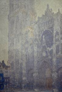 Rouen Cathedral, Effects of Morning Light by Claude Monet