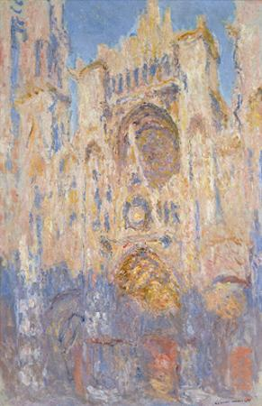 Rouen Cathedral, Effects of Sunlight, Sunset, 1892