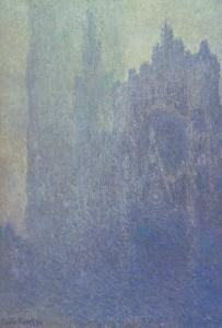 Rouen Cathedral, Foggy Weather, 1894 by Claude Monet