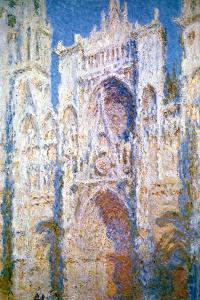 Rouen Cathedral, Harmony in Blue and Gold, 1894 by Claude Monet