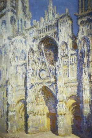 Rouen Cathedral in Full Sunlight, 1893 by Claude Monet