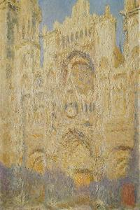 Rouen Cathedral, Midday, 1894 by Claude Monet