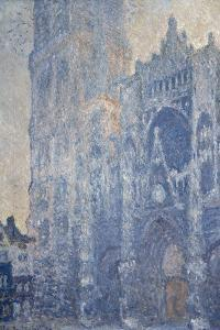Rouen Cathedral (Morning Effect) by Claude Monet