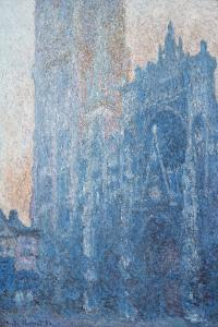 Rouen Cathedral, Portal, Morning Light, 1894 by Claude Monet