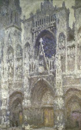 Rouen Cathedral (The Portal, Gray Weather) by Claude Monet