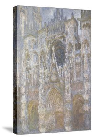 Rouen Cathedral, the Portal, Harmony Blue Morning Sun