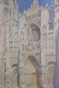 Rouen Cathedral: The Portal (Sunlight), 1894 by Claude Monet