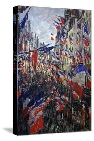 Rue St Denis in Paris During Patriotic Festival of June 30, 1878