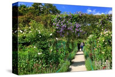 Claude Monet's Garden in Giverny, Department of Eure, Upper Normandy, France