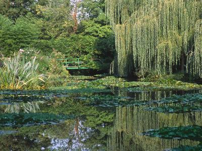 Claude Monet's Garden Pond in Giverny, France-Charles Sleicher-Photographic Print