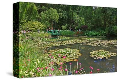 Claude Monet's Water Garden in Giverny, Department of Eure, Upper Normandy, France