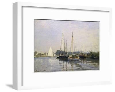 Sailing Boats, Argenteuil, about 1872/73