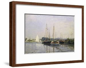 Sailing Boats, Argenteuil, about 1872/73 by Claude Monet