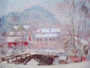 Sandvicken, Norway by Claude Monet