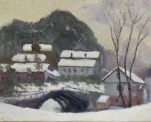 Sandviken, Norvega, 1895 by Claude Monet