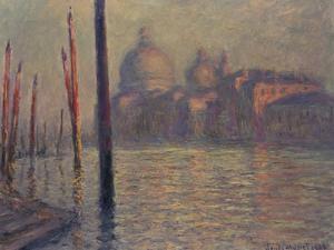 Santa Maria della Salute and the Canale Grande, Venice, 1908 by Claude Monet